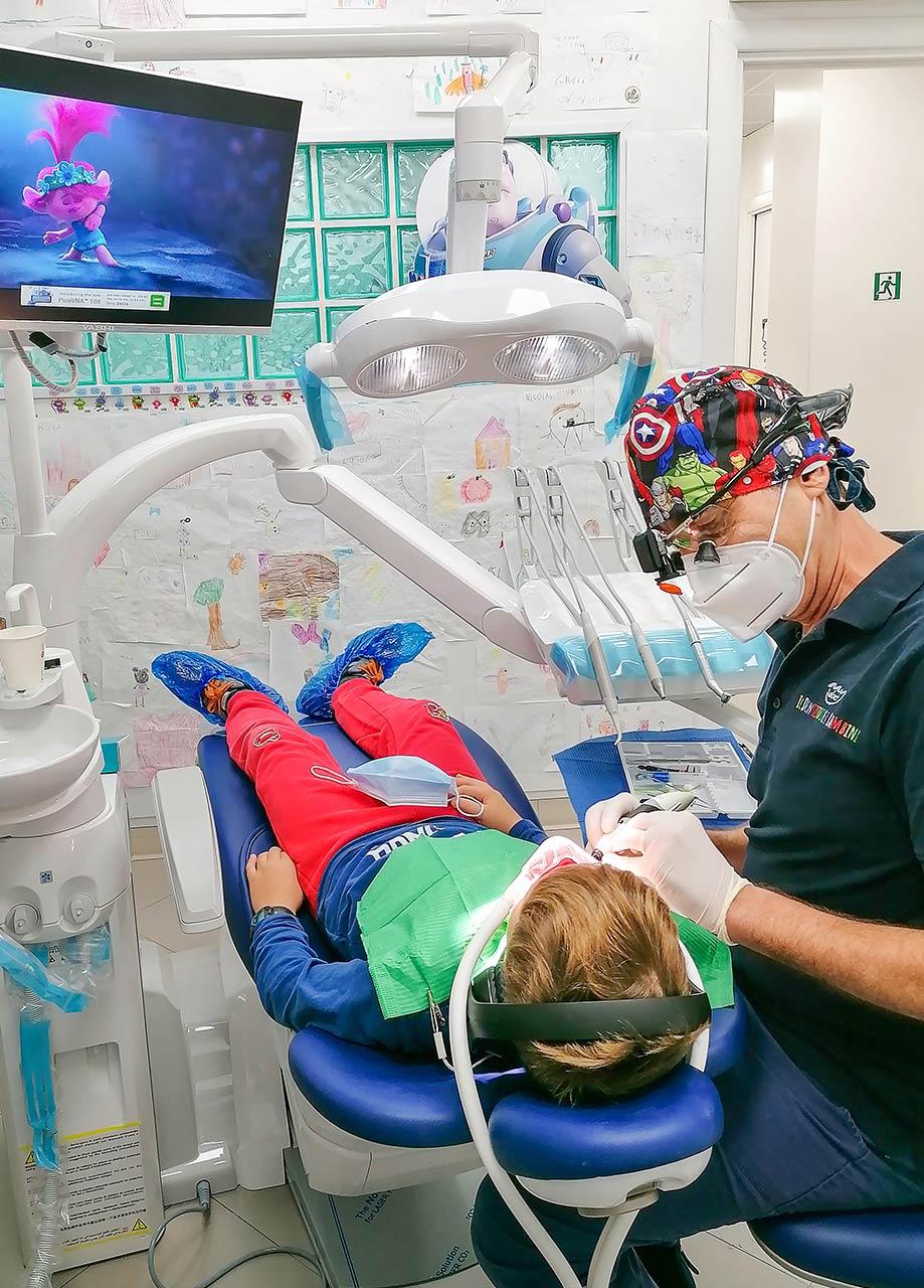 Riunito - Dentista - Studio Pelagalli - Centro Odontoiatrico Roma